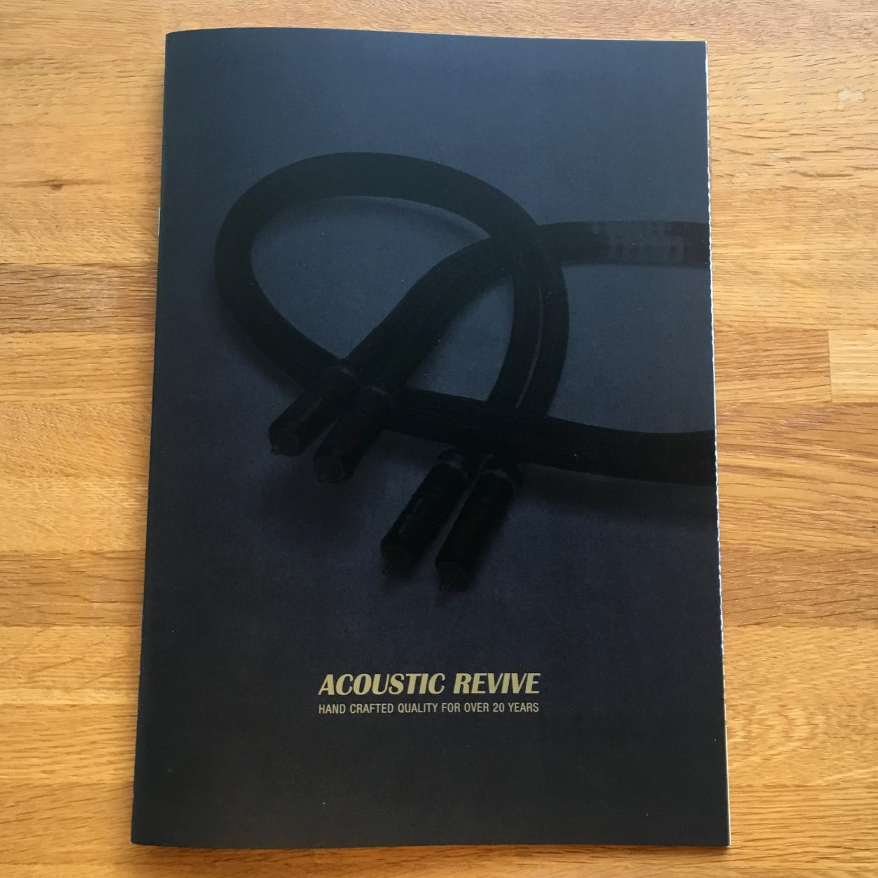 ACOUSTIC REVIVE CATALOG